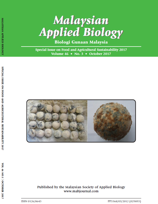 View Vol. 46 No. 3 (2017): Special Issue on Food and Agricultural Sustainability 2017