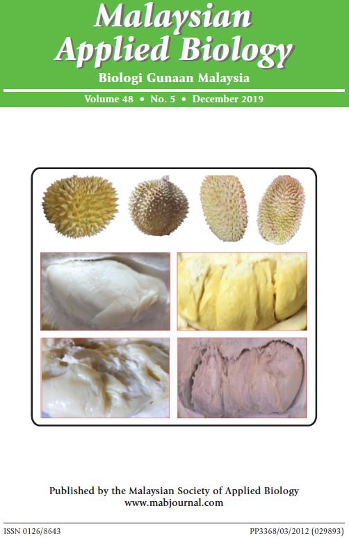 View Vol. 48 No. 5 (2019): December 2019
